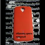 Lenovo S820 чехол силиконовый (красный)