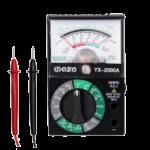 Мультиметр аналоговый Фаza YX-2000A