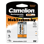 Аккумулятор Camelion 6F22 NH-9V250BP1, 9V, 250 mAh Крона