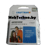 Motorola RAZR2 V9 аккумулятор Craftmann BX50