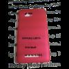 HTC Desire 300 чехол пластиковый, розовый