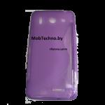 Huawei Ascend G510 U8951  чехол силиконовый волна (фиолетовый)