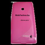 Huawei Ascend G510 U8951 чехол силиконовый волна (тем-розовый)