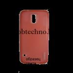 Microsoft Lumia 930 чехол силиконовый Experts Fine (красный)
