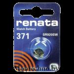Батарейка Renata Silver AG6 SR920W  1.5v
