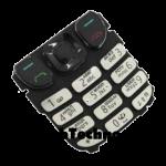 Клавиатура Nokia 6303 русско-англ оригинал, серебро