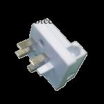 Универсальная телефонная вилка Евро Rexant 03-0012 (белая)